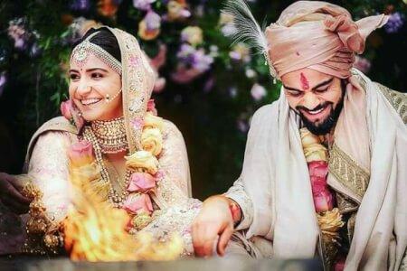Photos of Virat anushka marriage