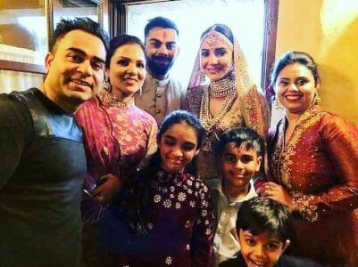 Virat anushka marriage video